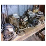 Shelf of Misc Motors