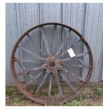 """Steel Wheel, 42"""""""