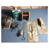 Trowels, Copper? Wire, Wire Wheel, Can Acetone