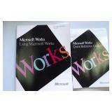 Microsoft Works Quick Refernce Guide & Book for