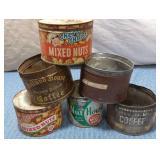 Peanut & Coffee Tins