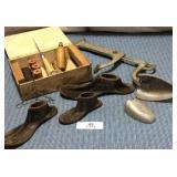 Antique Malleable Shoe Last, Home Valet Shoe