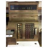 The National Cash Register Co Brass Cash Register