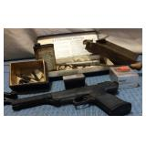 Daisy 288 Air Pellet Pistol, Gun Cleaning Misc. &