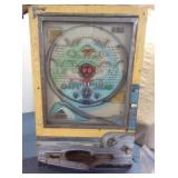 Vintage Pachinko Machine, Sophia, w/balls, no key