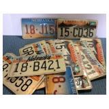 Box of Nebraska License Plates