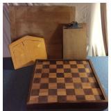 Handmade Game Board, Puzzle, ? Cutting Board,