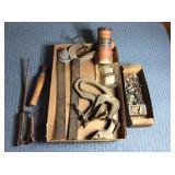 Assorted Tire Repair Tools & Misc