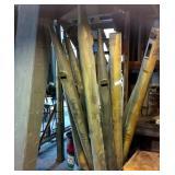 Pipe Organ Pipes (ground floor)