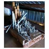 Pipe Organ Parts (upstairs)