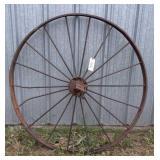 """Steel Wheel, 54"""""""