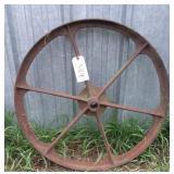 """Steel Wheel, 31.5"""""""