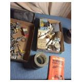 Assorted Electrical,  Lead Safe Canister