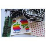 Apple Stickers ? Board & Misc. Cables