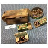 VTG Remington Kleanbore .22 Long Rifle Shells,