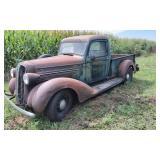 1936 Dodge Pickup, 6 Cylinder Flathead Overhauled