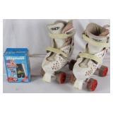 Vintage Skates & Playmobil Firefighter