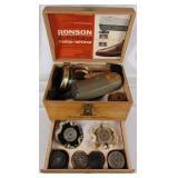 Vintage Ronson 2-Speed Shoe Shine Kit