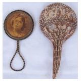 Pair of Antique Pocket Mirrors