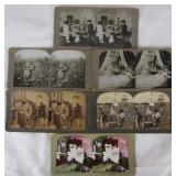Lot of 6 Stereoscope Cards