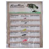 NOS Card Green River Sensational Fish Catchers #4