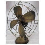 Hunter #262 Memphis Tennessee Brass Blade/Body Fan