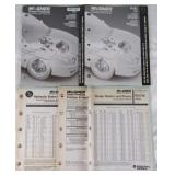Lot of Wagner Brake Products ID Catalogs