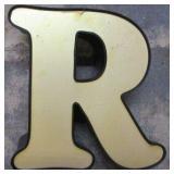 "13"" Lighted Letter R"