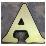 """13"""" Lighted Letter A"""