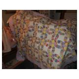just 1 of hand stitched quilts