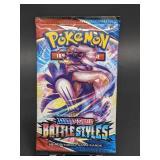 Sealed Pokemon Sword & Shield Battle Styles Pack