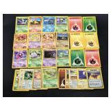 (29) 2000 Gym Challenge Pokemon Cards