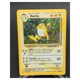 1999 Pokemon Raichu Rare Holo 14/102