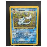 1999 Pokemon Vaporeon Rare Holo 12/64
