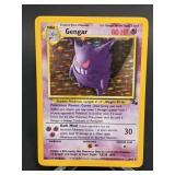 1999 Pokemon Gengar Fossil Rare Holo 5/62