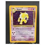 1999 Pokemon Hypno Fossil Rare Holo 8/62