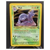 1999 Pokemon Muk Fossil Rare Holo 13/62