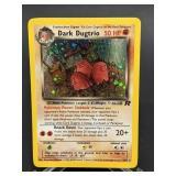 2000 Pokemon Dark Dugtrio Rare Rocket Holo 6/82