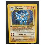 1999 Pokemon Machamp Rare Holo 1st. Ed 8/102