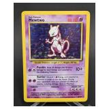 1999 Pokemon Mewtwo Rare Holo 10/102