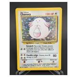1999 Pokemon Chansey Rare Holo 3/102