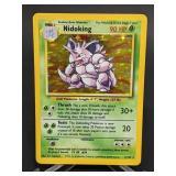 1999 Pokemon Nidoking Rare Holo 11/102
