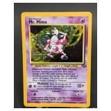 1999 Pokemon Mr.Mime Rare Jungle Holo 6/64