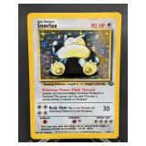 1999 Pokemon Snorlax Jungle Rare Holo 11/64