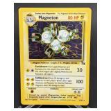 1999 Pokemon Magneton Fossil Rare Holo 11/62