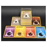 Lot of 1999 Base Set Energy Pokemon Cards