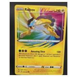 2020 Pokemon Raikou Vivid Voltage 50/185