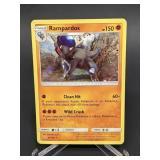 2018 Pokemon Rampardos Rare/Holo 65/156