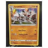 2020 Pokemon Lycanroc Rare/Holo 30/73