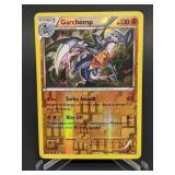 2016 Pokemon Garchomp Rare/Reverse Holo 70/122
